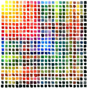 Watercolor Chart 12inch square