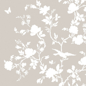 Ames Chinoiserie in Belgian Linen