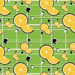 Orange Slice Plaid