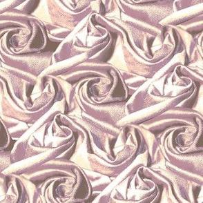 Fabric swirls in light pink