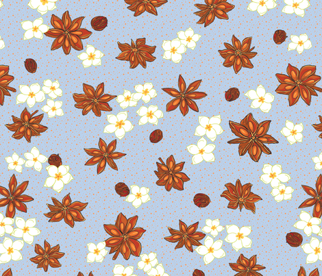 anisCombo fabric by thelazygiraffe on Spoonflower - custom fabric