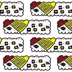 Decorated Pop Art Bar Cookies