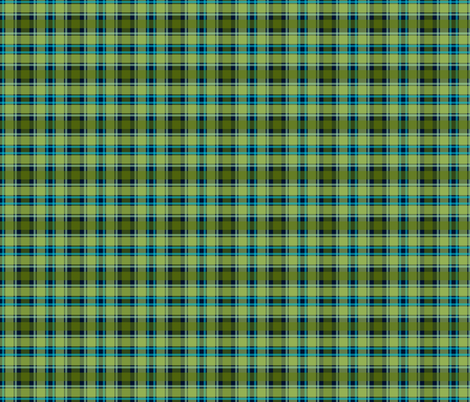 Plaid-Navy_and_Green fabric by mammajamma on Spoonflower - custom fabric