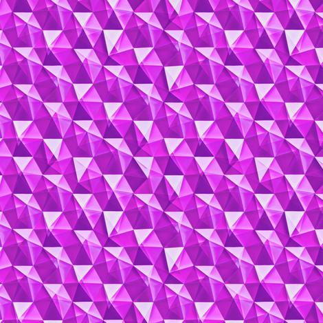 dark amethyst crystals fabric by weavingmajor on Spoonflower - custom fabric