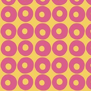 circle dots winter garden