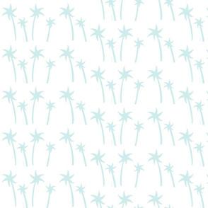 palms White - MEDIUM seaglass