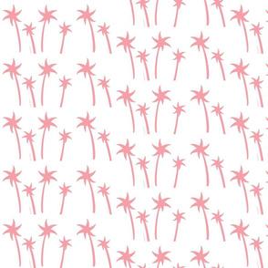 palms White - MEDIUM bubble gum