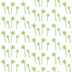 palms White - MEDIUM kiwi