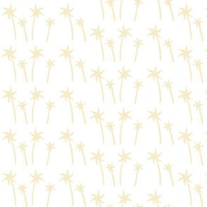 palms White - MEDIUM cream