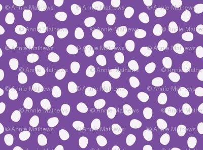 Purple Pebbles - large
