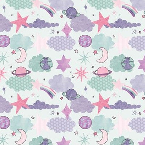 Starry Space Print
