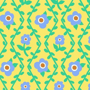 Ric Rac Ogi-spring flowers colorway