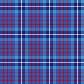 Blue family tartan
