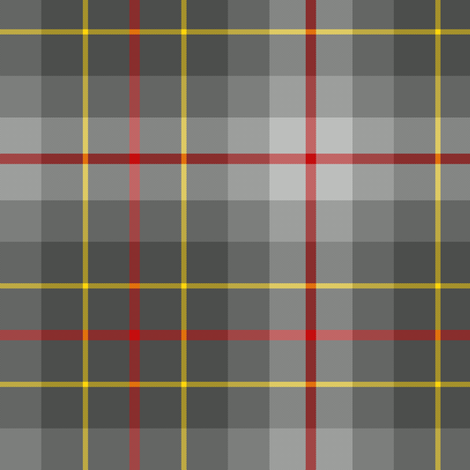 Brodie silver tartan fabric by weavingmajor on Spoonflower - custom fabric
