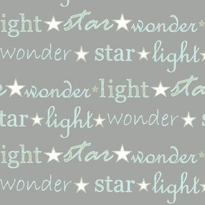 star light wonder - grey/pale blue