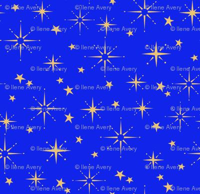 Holiday Stars - Blue
