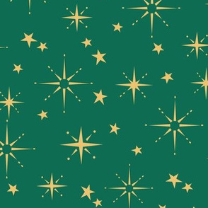 Holiday Stars - Green