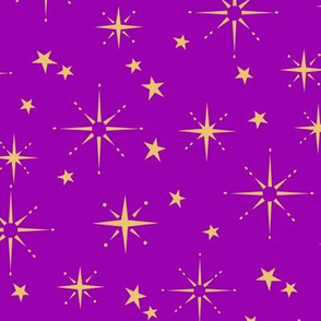 Holiday Stars - Magenta
