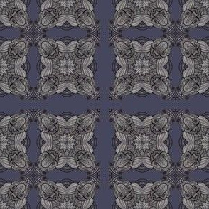 dusty periwinkle 4-square