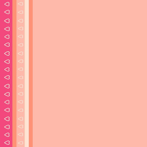 Danita's Pretty Pink Border Print