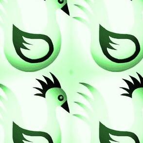 BIG CRAFTS Misty Green Ducks