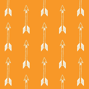 Vertical Orange Arrows
