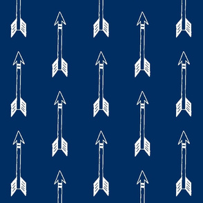 Vertical Navy Arrows