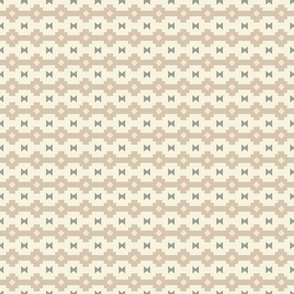 Navajo Stripe Cream
