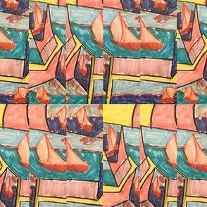 Techno LXVIII (2015) (Sail)