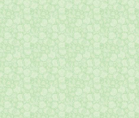 Green_Tonal_Beach_Outlines-01 fabric by jenn_borek on Spoonflower - custom fabric