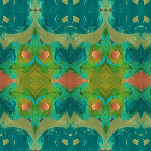 PaintGalaxyBoho_Olive_ForestGr_Teal_Coral