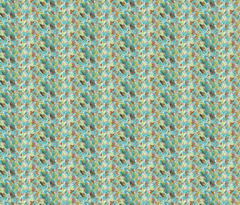 Extrusion_Olive_Sage_Teal_Rust fabric by perrastudios on Spoonflower - custom fabric