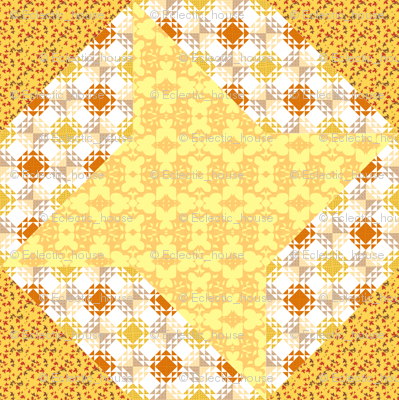 Butter Yellow Ribbon Star