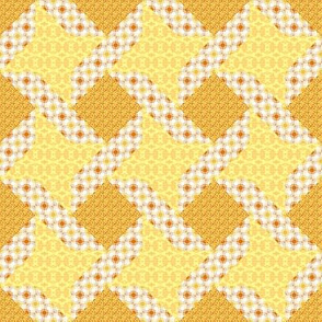 Butter Yellow Ribbon Star