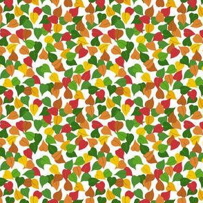tiny leaf autumn