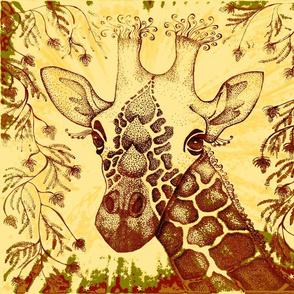 Giraffe zen kalahari FQ