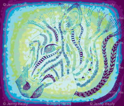 Zebra zen okovango 64