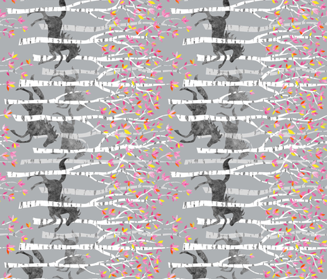 all the pretty little horses rotated for corky quilts fabric by vo_aka_virginiao on Spoonflower - custom fabric