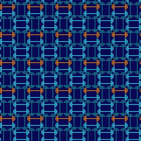 Rrrrdumbbell_weave_tileable_-teal-mint-orange-royal_blue_shop_preview