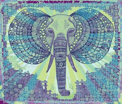 Elephant zen Okovango 64