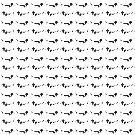 BooBoo Collective - Basset Hound 2 fabric by booboo_collective on Spoonflower - custom fabric