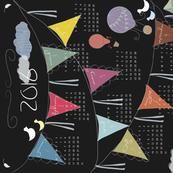 2016 Chalkboard Tea Calendar