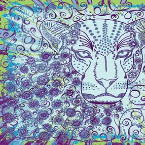 Leopard zen Okovango 64