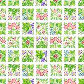 Tudor Parterre Flowers