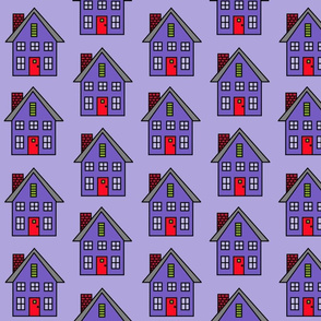 Purple Houses