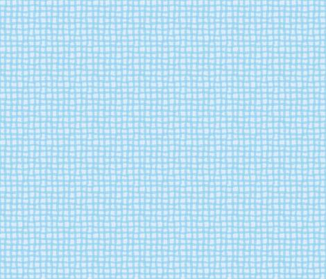 Blue_Tonal_Beach_Gingham-01 fabric by jenn_borek on Spoonflower - custom fabric