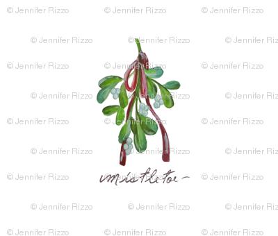 Mistletoe_hanging