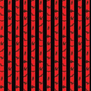 Red Bats n Stripes