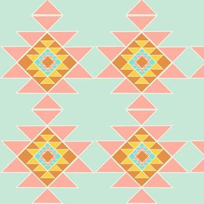 Wayne collection - colorful large geometric shape