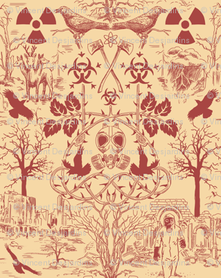 Post Apocalypse Toile Larger